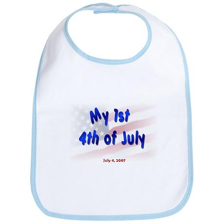 1st 4th of July 2007 Bib