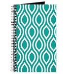 Ogee Teal Retro Journal