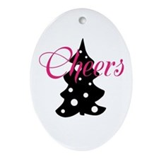 Cheers Ornament (Oval)