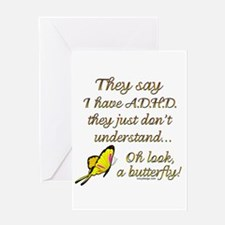 ADHD Butterfly Greeting Cards