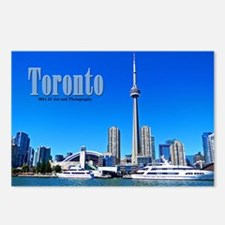 Toronto Harbor Postcards (package Of 8)