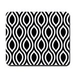 Ogee Retro Black and white Mousepad