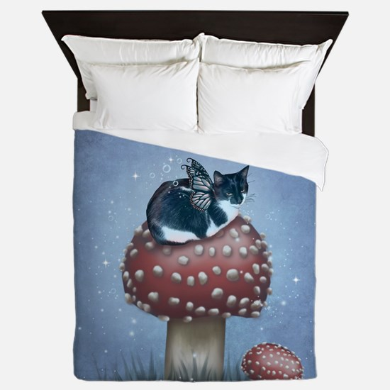 Fairy Cat II Queen Duvet