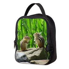 Chipmunks Neoprene Lunch Bag