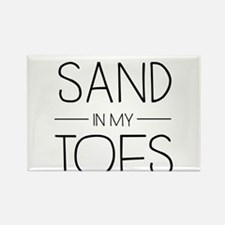 I'd Rather Have Sand In My Toes Magnets