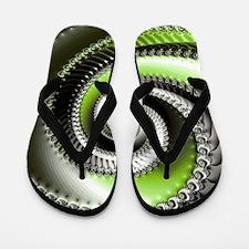 Intervolve Lime Flip Flops
