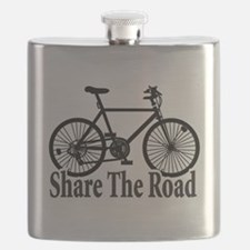 Cute Bicycle racing Flask