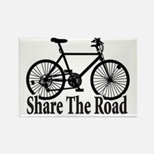 Cute Share the road Rectangle Magnet
