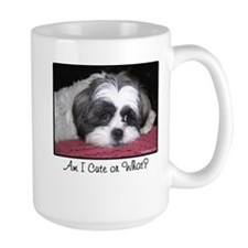 Cute Shih Tzu Dog Mugs