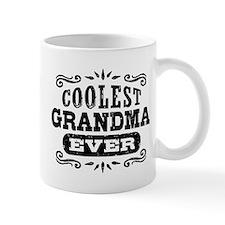 Coolest Grandma Ever Small Mugs