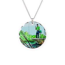 Gone Fishing Necklace