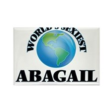 World's Sexiest Abagail Magnets