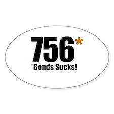*Bonds Sucks Oval Decal