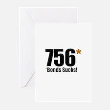 *Bonds Sucks Greeting Cards (Pk of 10)
