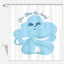 Windy Cloud Shower Curtain