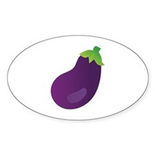 Eggplant Decal