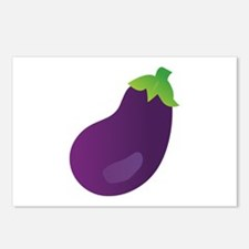 Eggplant Postcards (Package of 8)