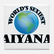 World's Sexiest Aiyana Tile Coaster
