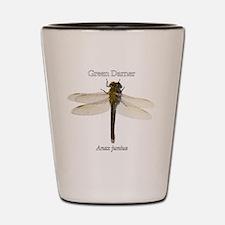 Green Darner Dragonfly Shot Glass