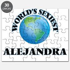 World's Sexiest Alejandra Puzzle