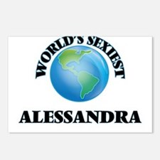 World's Sexiest Alessandr Postcards (Package of 8)