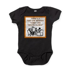 card player Baby Bodysuit