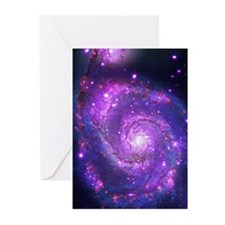Whirlpool Galaxy Greeting Cards (Pk of 20)