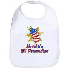 Abuela's Little Firecracker Bib