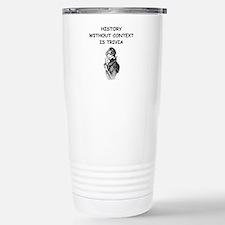 Unique History Travel Mug