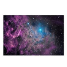 Flaming Star Nebula Postcards (Package of 8)