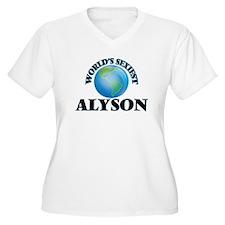 World's Sexiest Alyson Plus Size T-Shirt