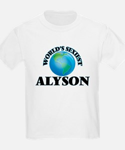 World's Sexiest Alyson T-Shirt