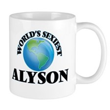World's Sexiest Alyson Mugs