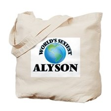 World's Sexiest Alyson Tote Bag