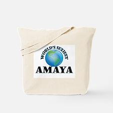 World's Sexiest Amaya Tote Bag