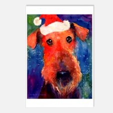 Airedale Dog Postcards (Package of 8)