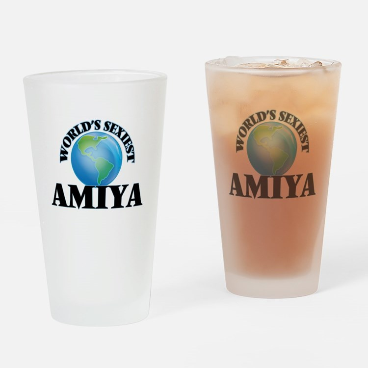 World's Sexiest Amiya Drinking Glass