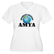 World's Sexiest Amya Plus Size T-Shirt
