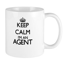 Keep calm I'm an Agent Mugs