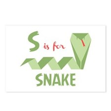 S Is For Snake Postcards (Package of 8)