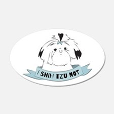 I Shih Tzu Not Wall Decal