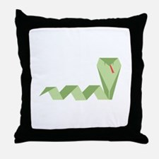 Chinese Snake Throw Pillow