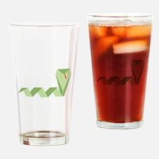 Chinese Snake Drinking Glass