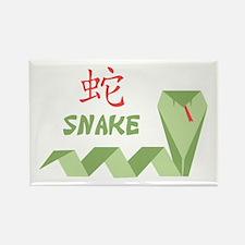 Chinese Snake Symbol Magnets