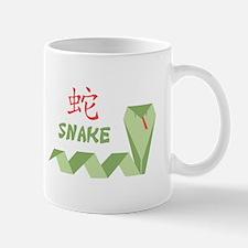 Chinese Snake Symbol Mugs