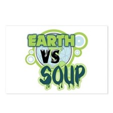 Earth VS Soup Postcards (Package of 8)