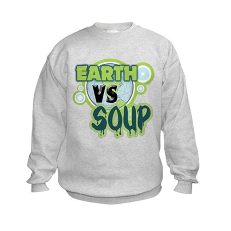 Earth VS Soup Kids Sweatshirt