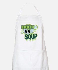 Earth VS Soup BBQ Apron