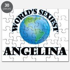 World's Sexiest Angelina Puzzle