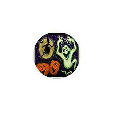 Unique Ghosts Mini Button